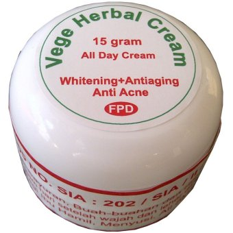 Harga Fpd Vege Herbal Cream - 15 gr