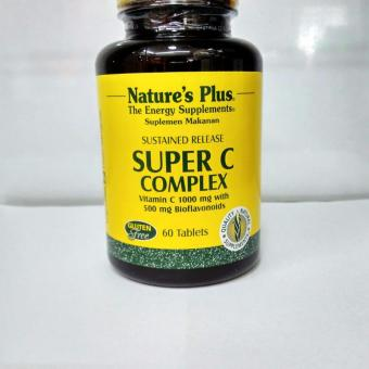 Harga Nature's Plus SUPER C