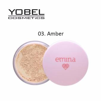 Harga Emina Bare With Me Mineral Loose Powder - 03 Amber