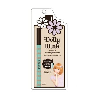Harga Dolly Wink Brown Liquid Eyeliner