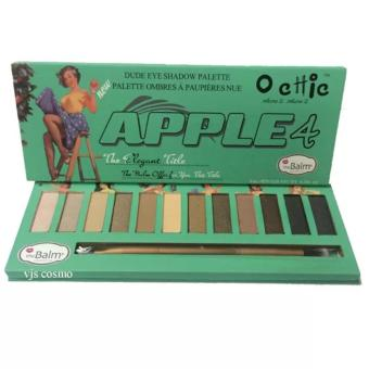 Harga New Apple 4 Chic Eyeshadow Palette Ombres - 12 Warna