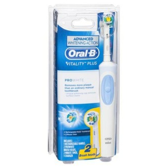 Harga Oral-B Vitality Plus Pro White Rechargeable Toothbrush