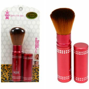 Harga Queen Of The Shine Make Up Brush / Rectrectable Brush / Kuas Blush On 002 (Red)