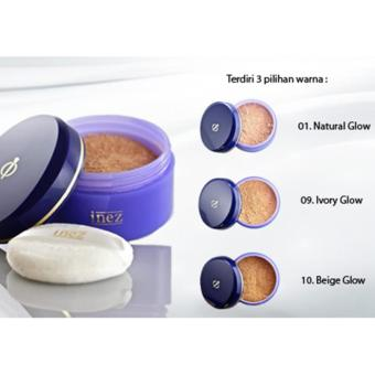 Inez Face Powder - Natural Glow (01)