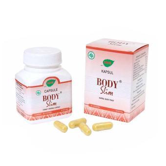 Jamu IBOE Body Slim Herbal Supplement 3 botol @30 kapsul