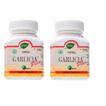 Jamu Iboe Garlicia Plus 30'S Paket 2 Botol - Menurunkan Kolesterol, Ekstratk Bawang Putih, Garlic, Mencegah Stroke, Mencegah Sakit Jantung
