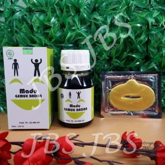 JBS Al Mabruroh Madu Penggemuk Badan - Collagen Lip Mask - MaskerBibir
