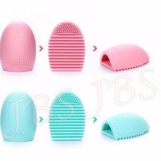 JBS Makeup Brush Cleaner Cleaning Washing Foundation Brushegg Cosmetic - Pembersih Kuas Make Up Multi Colour