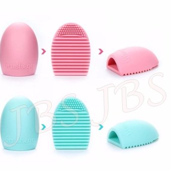 JBS Makeup Brush Cleaner Cleaning Washing Foundation BrusheggCosmetic - Pembersih Kuas Make Up Multi Colour