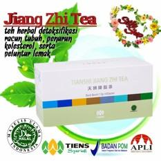 JIANG ZHI TEA TIENS (TEH HERBAL PELANGSING & PENCEGAH KOLESTEROL) by silfa shop #detokracun
