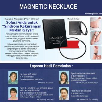 Kalung Gelang Magnet Kesehatan Prof Dr Han's- Magnetic Necklace - 3