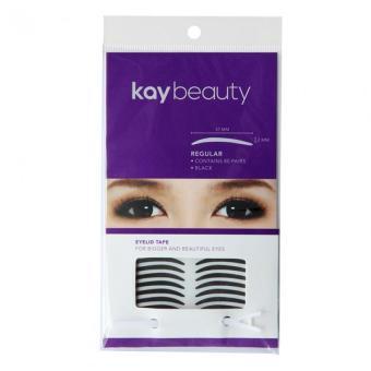 Kay Beauty 120 Pairs Black Eyelid Tape