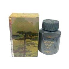 Kianpi Ginseng Pil Penggemuk Herbal Gold - 60 Capsul