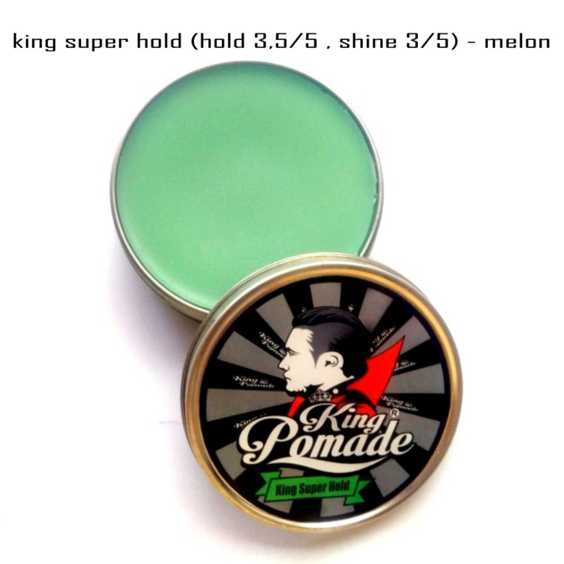 HEMAT..! King Pomade 2.8oz 80gram Super Hold Oilbased Terbagus