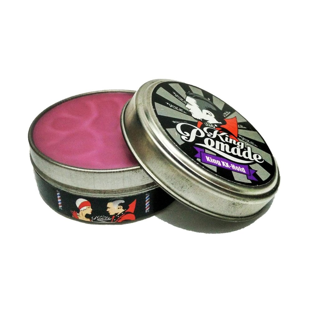 BELI..! King Pomade XX Hold Oilbase Mini 1.8oz + Gratis Comb Terlaris
