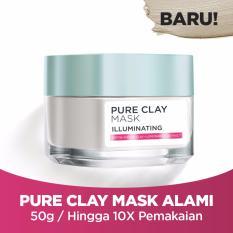 L'Oreal Paris Pure Clay Illuminating Mask - 50ml