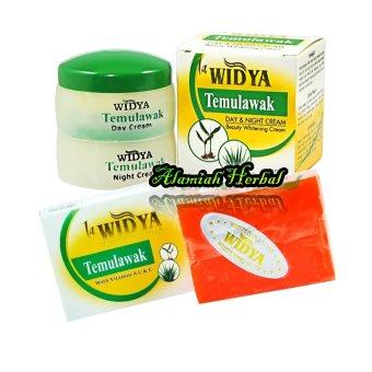 La Widya Cream Temulawak Siang Malam BPOM dan Sabun Temulawak La widya - Paket 2Pcs