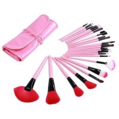 LALANG 1 Set dari 24 buah kuas Makeup Set alat kosmetik kecantikan aksesori