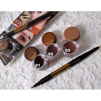 Landbis - Lanbis Eyebrow Gel & Eyeliner + Brush 3 in1