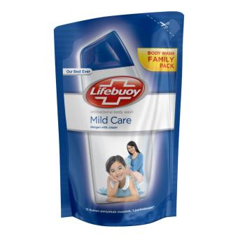 Lifebouy Body Wash Mild Care Reffil 450ml