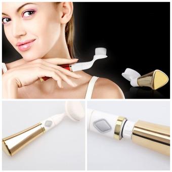 Listrik mesin cuci muka sikat pembersih kulit pembersih wajah pori tubuh pijat alat kecantikan keemasan - 3