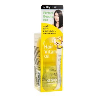 Harga Lucido-L Hair Vitamin Oil Dry 50m Murah