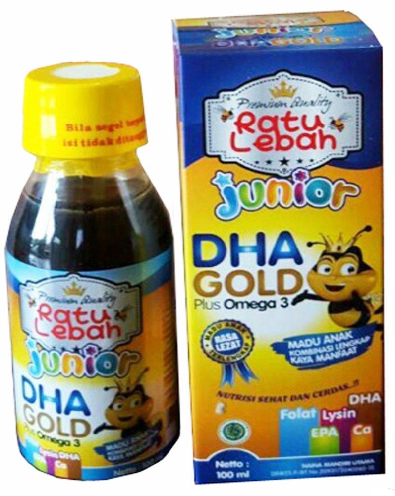 Flash Sale Madu Lebah Anak Ratu Junior Dha Gold Plus Hitam Pahit Propolis Cheap Online Omega 3