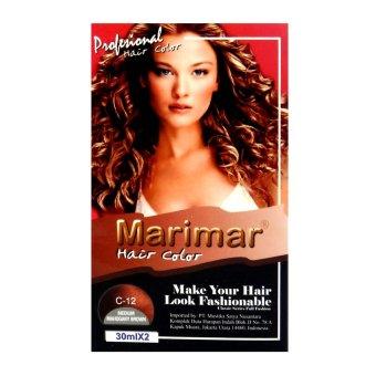 Harga Marimar Semir Rambut / Cat Rambut 30MLX2 – C12 Murah