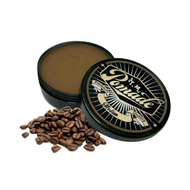 REVIEW Market – TM Pomade Original (COFFEE) Termurah + Free Sisir Terbaik