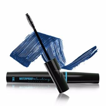 Mascara warna biru QL waterproof