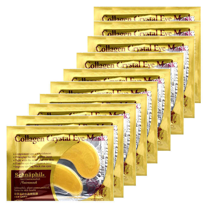 Masker Mata - Gold Eye Mask Collagen - Isi 10 Pasang