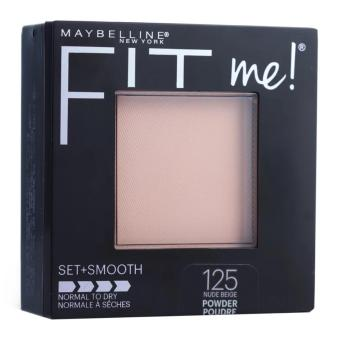 Maybelline Fit Me Set + Smooth Powder #125 Nude Beige EXP 2019