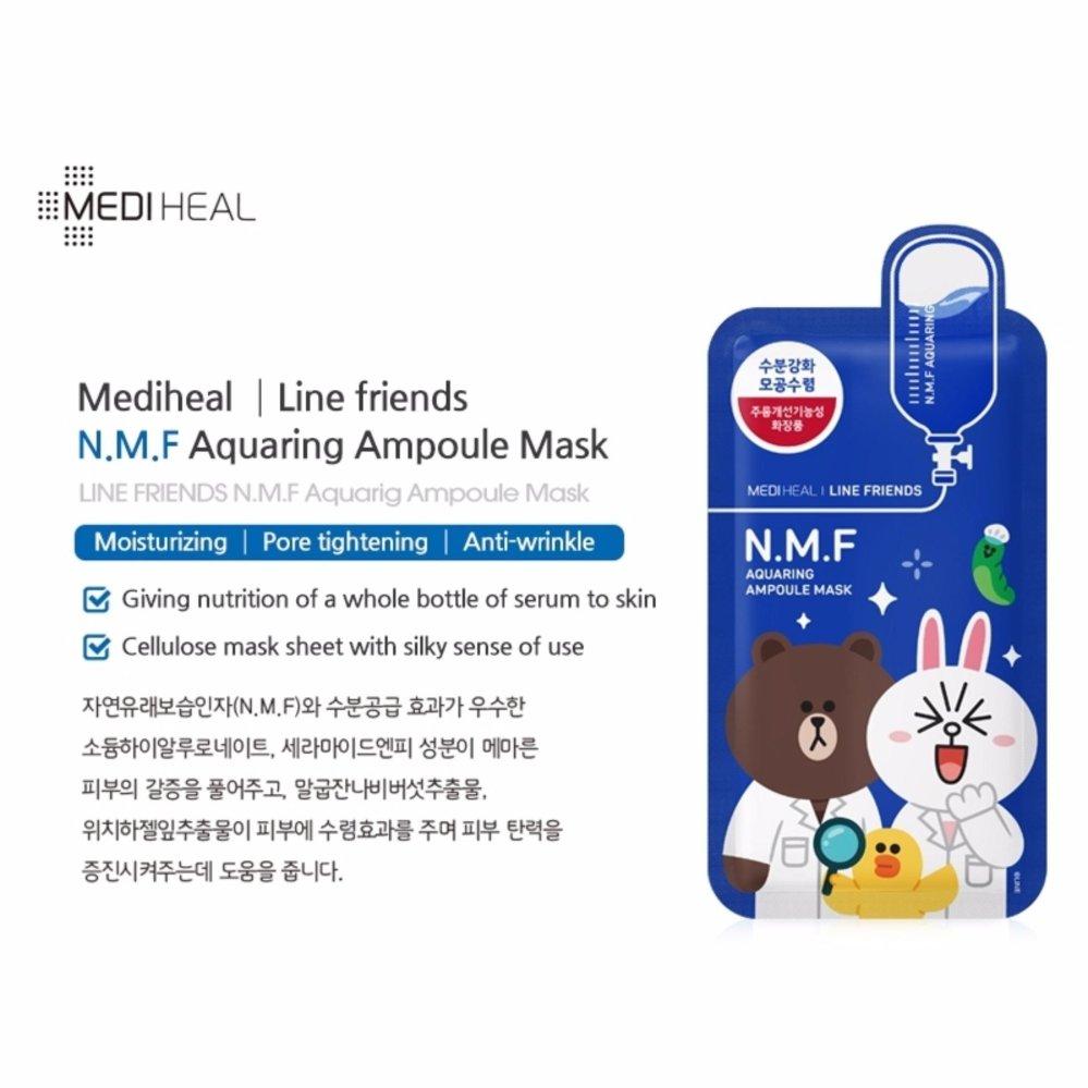 Mediheal Line Friends- 4 in 1 Bundle Mask Pack .