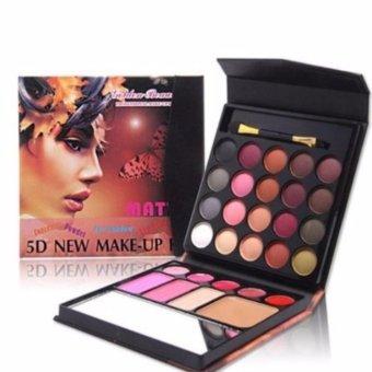 Mesh 5D New Make Up Kit All In One Eyeshadow Blush On Powder Lipstick