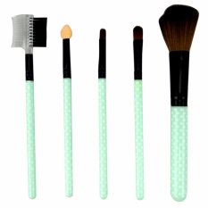 Mesh Kuas Mika isi 5 Make Up Tools - Brush Set 5 pcs All In One - Random Color