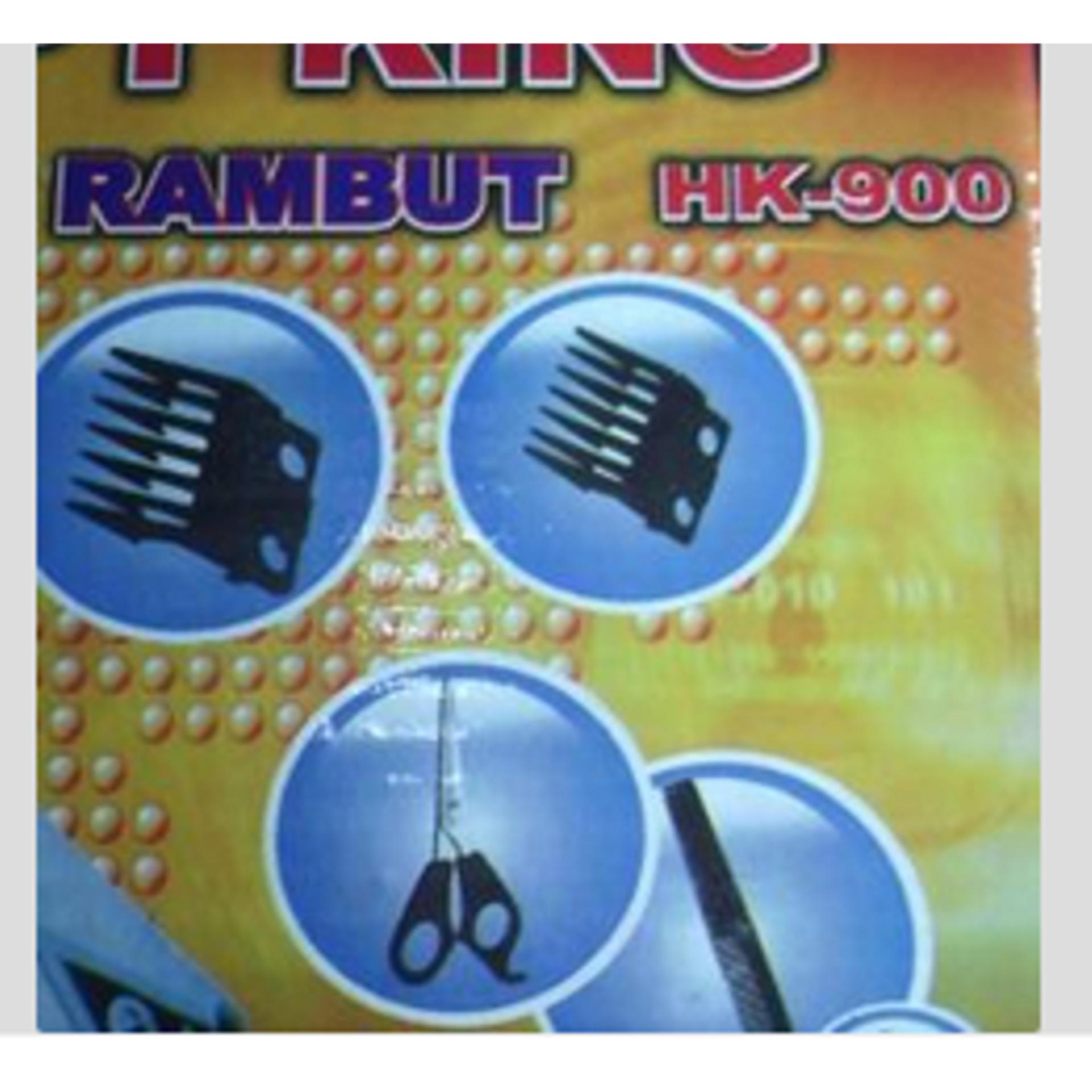 Mesin Alat Cukur Potong Pangkas Rambut Happy King Hair BarberClipper -  Hitam ... 33961bbc8c