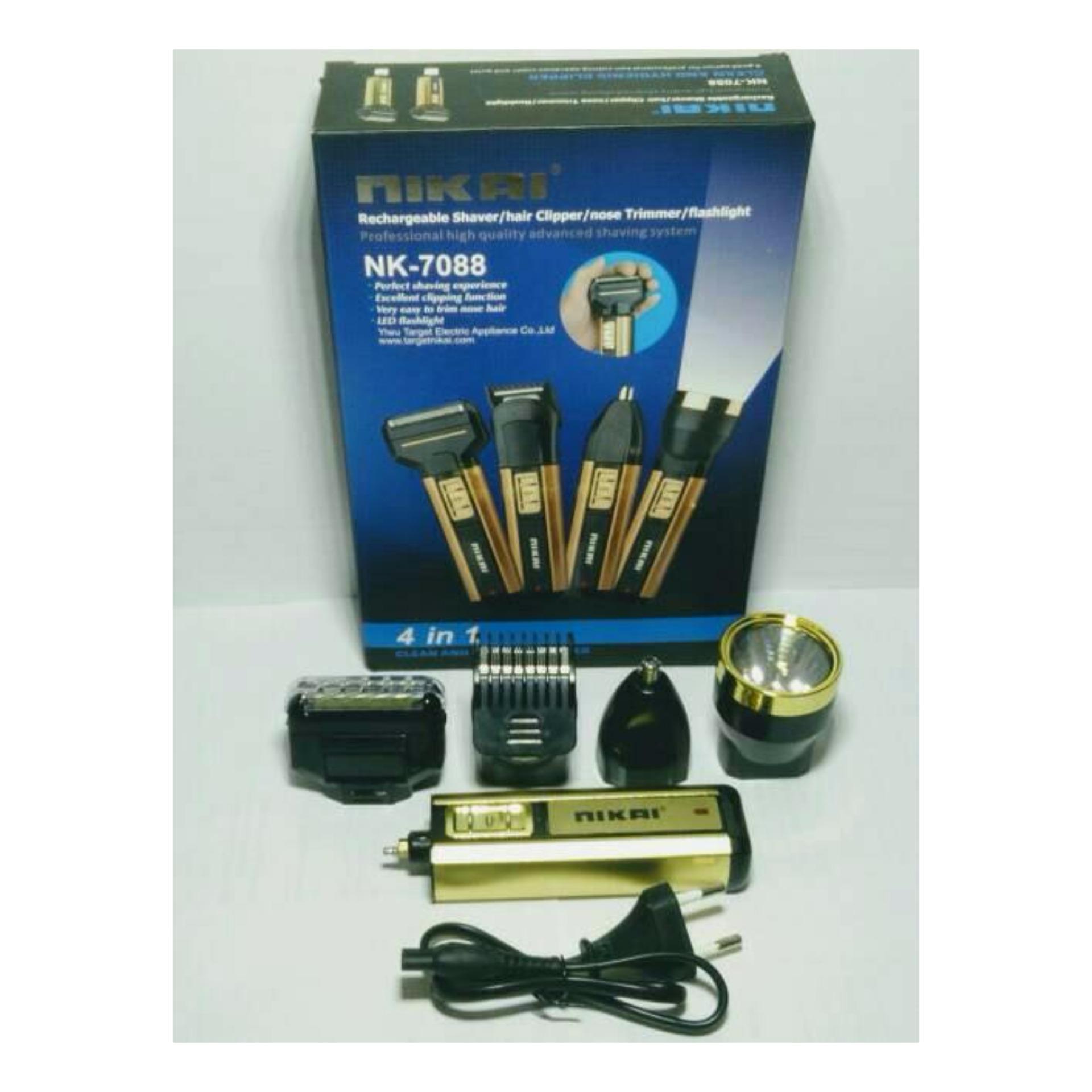 Penawaran Bagus Mesin Cukur Nikai 7088 Multi Fungsi Belanja Murah Nova Nhc 6138 Alat Rambut Kumis Jenggot