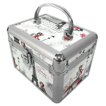 harga Mini praktis gelang kalung cincin hadiah perhiasan kotak penyimpanan perhiasan kotak Make up Organizer kosmetik - Internasional Lazada.co.id