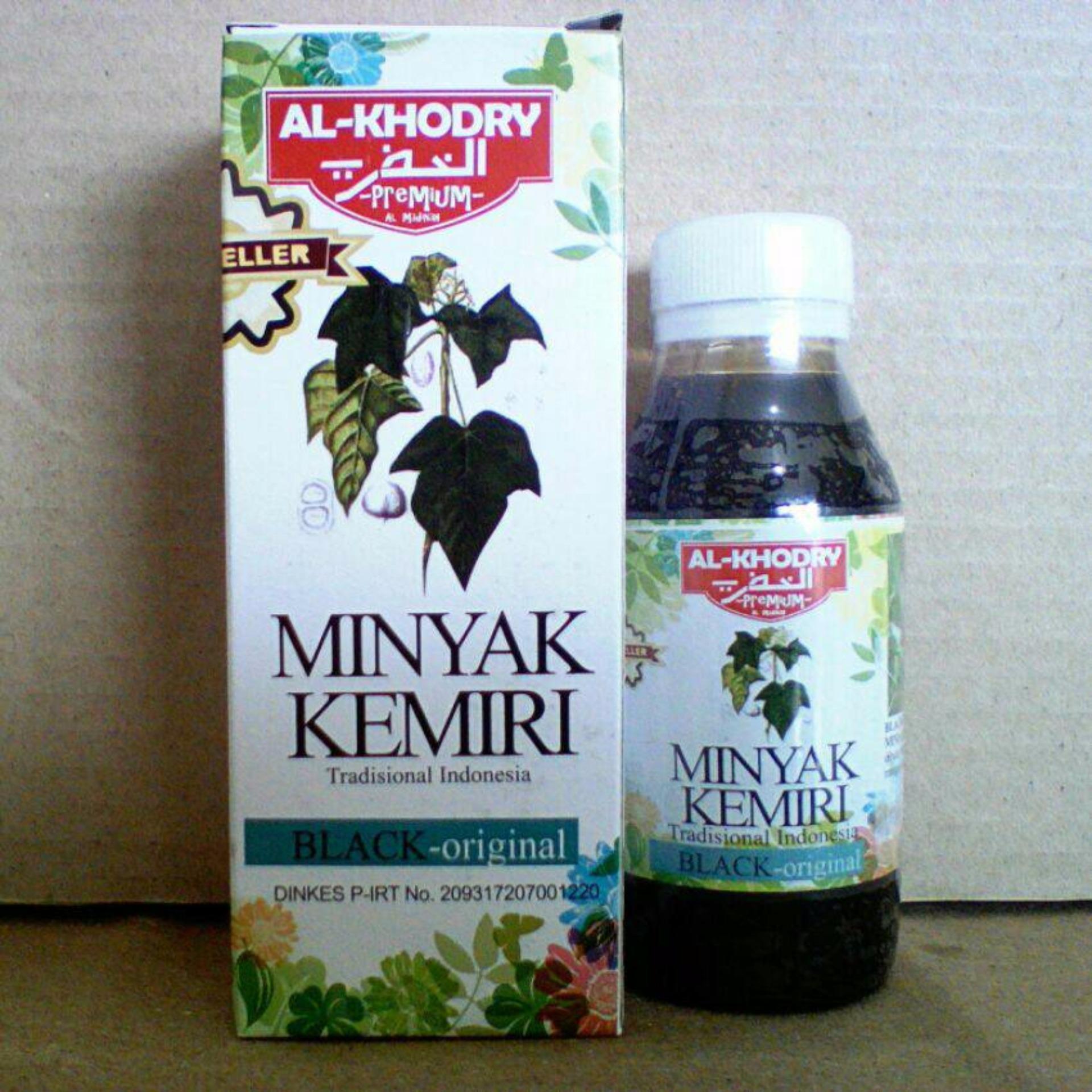 bandingkan simpan minyak kemiri al-khodry / herbal penumbuh rambut Review Minyak Kemiri Bulu Mata
