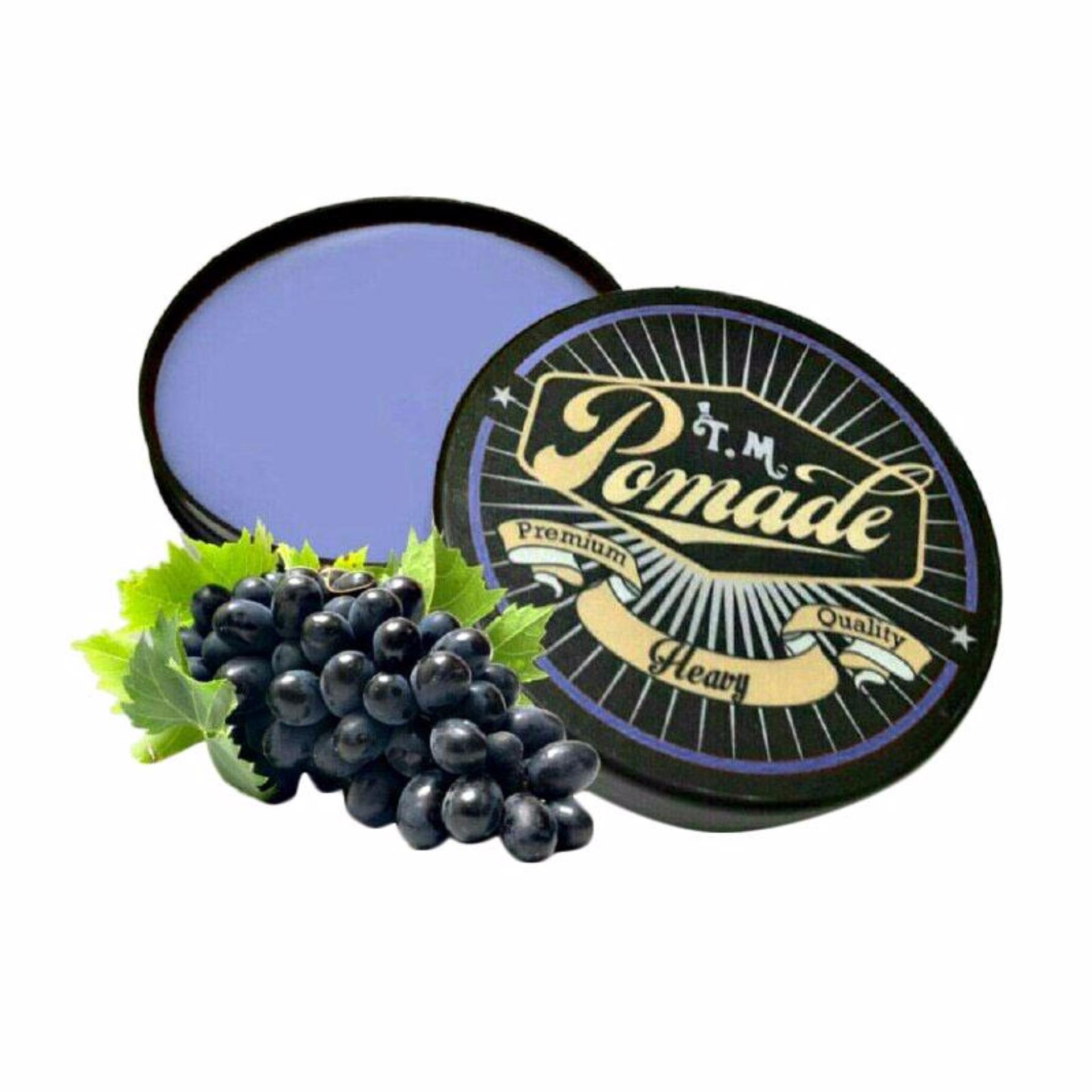 ULASAN Minyak Rambut TM Pomade – [Isi 2: Anggur dan Leci] Terbagus