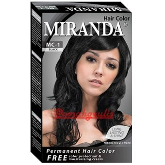 Miranda Hair Color-30ml - Black