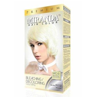 Miranda Hair Color Bleaching