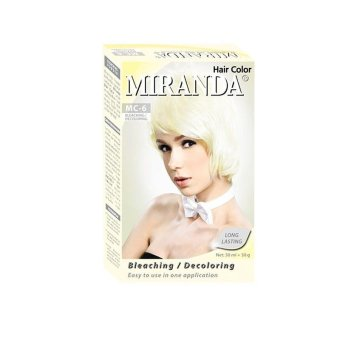 Harga Miranda Hair Color Bleaching 30 Ml Murah