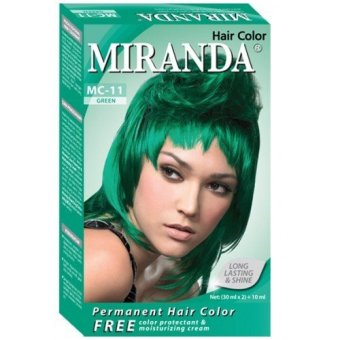 Harga Miranda Hair Color Mc11-Green 30Ml Murah