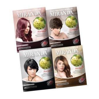 Harga Miranda Hair Color Shampoo-30ml Murah