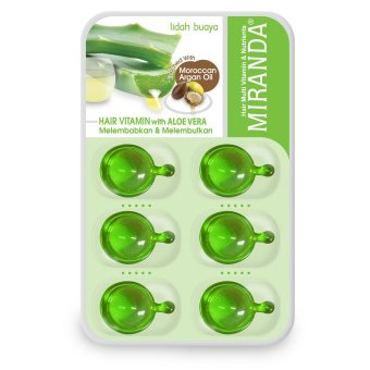 Harga Miranda Hair Vitamin Blister-6ml – Aloe Vera Murah