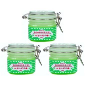 Bandingkan Toko Miss Moter Matcha Milk Hand Wax Green Tea Masker Gel Whitening Pemutih Badan Tangan Kaki Pelacakan Harga