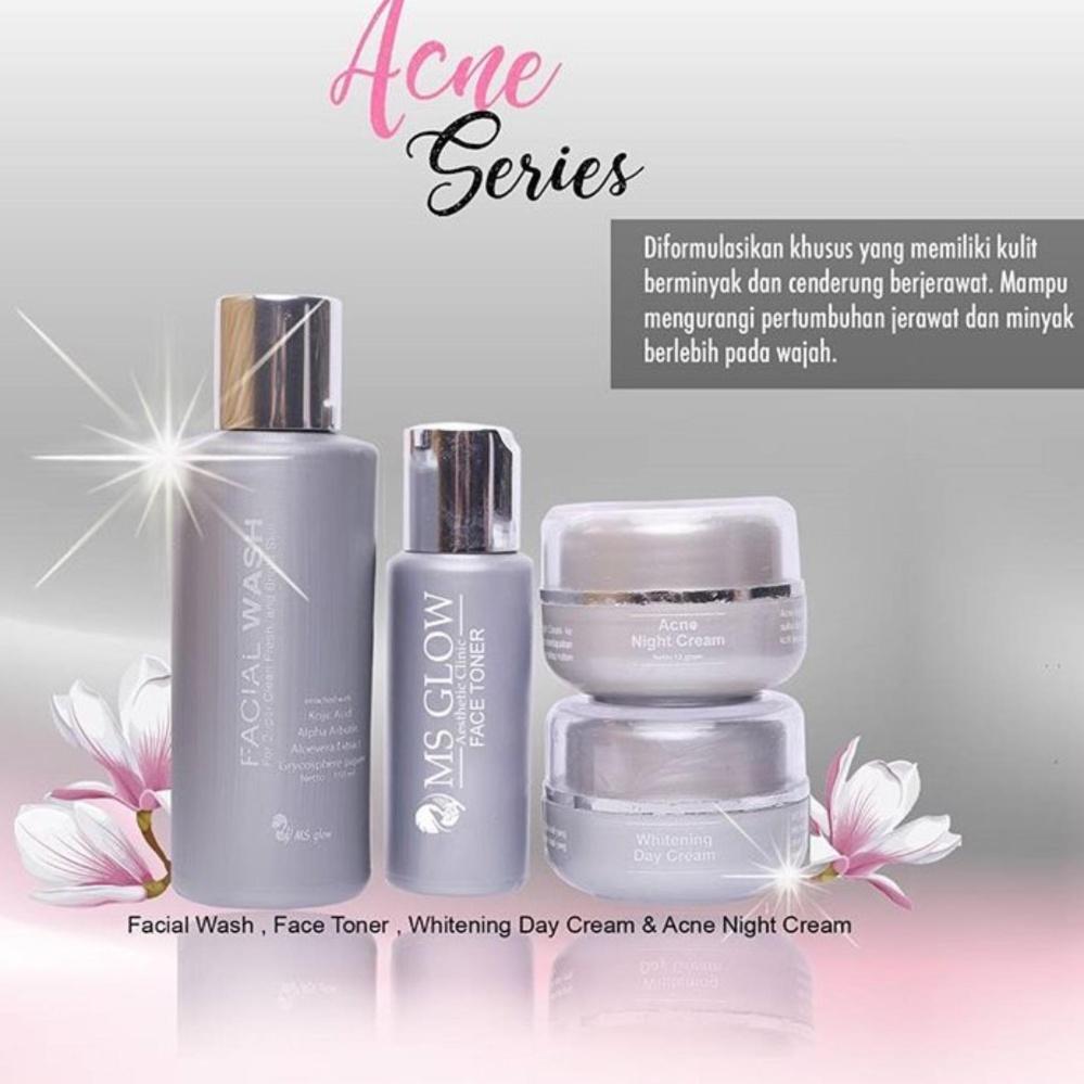 Harga Terendah Ms Glow Acne Series Belanja Murah Wardah Paket Isi 6