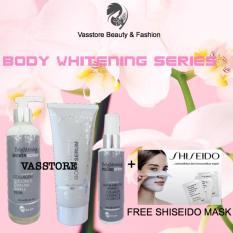 Msglow.idn Body Whitening 100% Original / MS Glow Paket Pemutih Badan