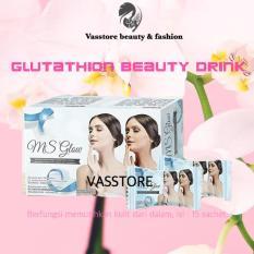 Msglow.idn Glutathione Beauty Drink / MS Glow minuman pemutih kulit